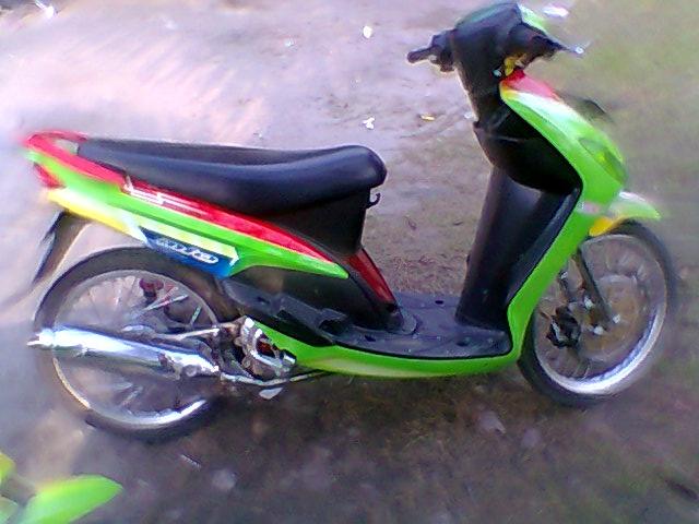 contoh modifikasi motor mio 2012
